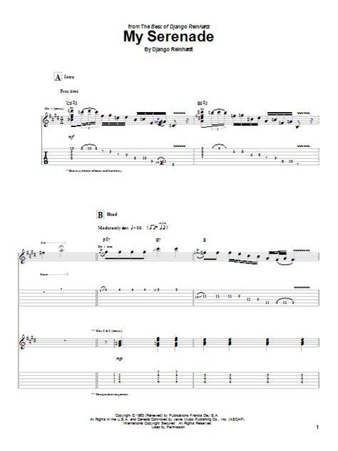 My Serenade  Sheet Music Direct