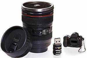 How cool is this Camera Lens Coffee Mug!! Exact Replica of Canon EF 24-105mm Lens! Comes with ...
