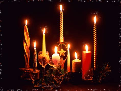 Halloween Taper Candles by Christmas Images Candle Display Animated Wallpaper Photos