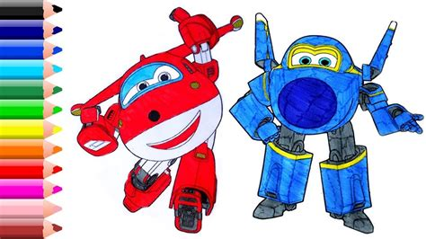 Super Wings Coloring Pages For Kids // Super Wings