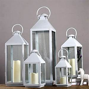 Wrought iron glass vintage large floor windproof lanterns for Kitchen colors with white cabinets with outdoor candle holders lanterns