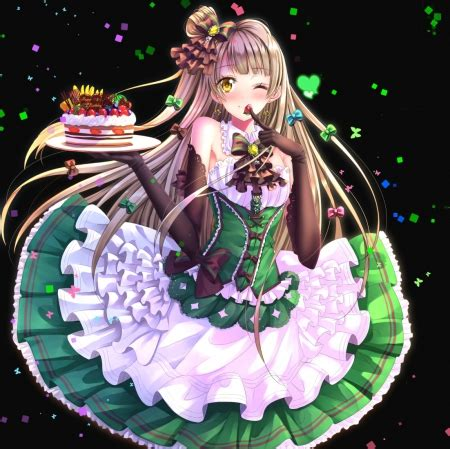 Anime Birthday Wallpaper - birthday cake other anime background wallpapers on