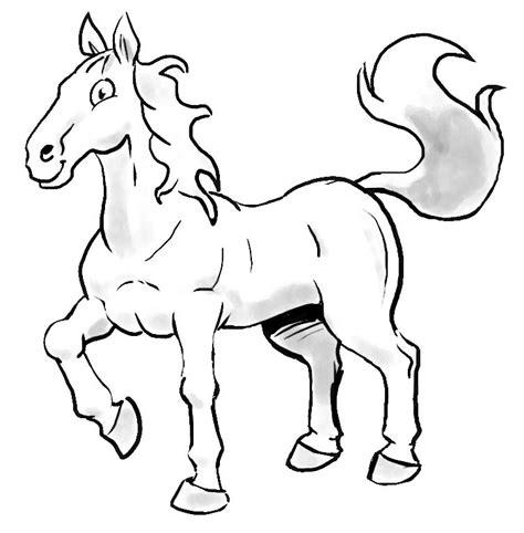 facile bambino cavallo disegno disegni bimbi facili