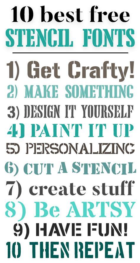 beautiful  stencil fonts perfect  signs stencil font  stencils