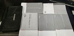 2014 Nissan Altima Owners Manual And Case