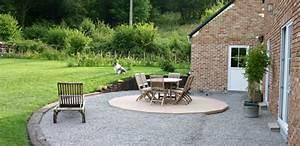 comment faire une terrasse en gravier info web les With comment faire une terrasse en gravier