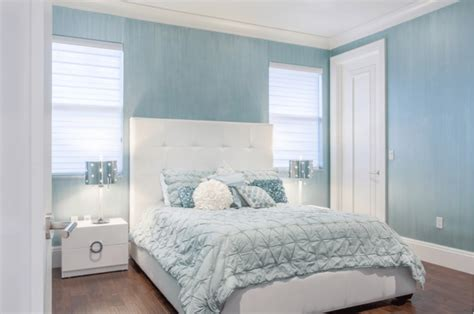 Blue White Bedroom Design by Soothing White Bedrooms With A Twist