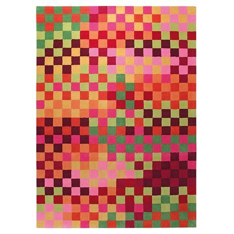 tapis pixel multicolore esprit home