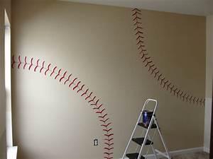 this diy house inspiration for vintage baseball and With baseball wall decor