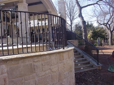 Wrought Iron Balcony Railing Exterior Rustic With Balcony