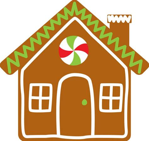 Gingerbread House Clip Free Gingerbread Houses Clipart Free Images At Clker