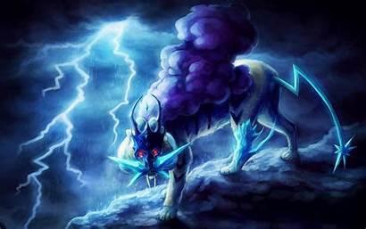 Pokemon Wallpapers Lightning Wolf Ice Wolves Lighting