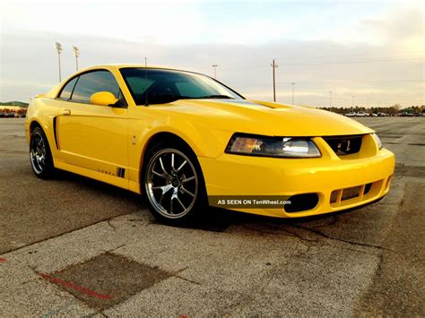 2004 Ford Mustang Svt Cobra Coupe 2 Door 4 6l