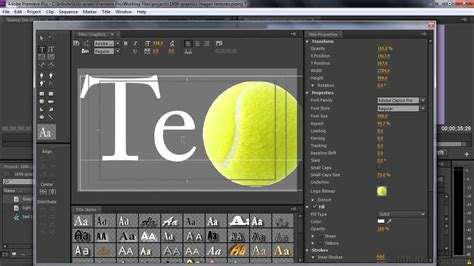 premiere title adobe premiere pro cc tutorial adding graphics images and textures to titles