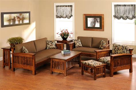 Sofa Set Designs For Small Living Room by Wooden Sofa Set Designs For Small Living Room Wood Home
