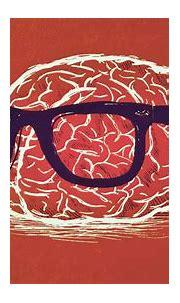 Nerd Brain (Orange Color) HD Wallpaper | Background Image ...