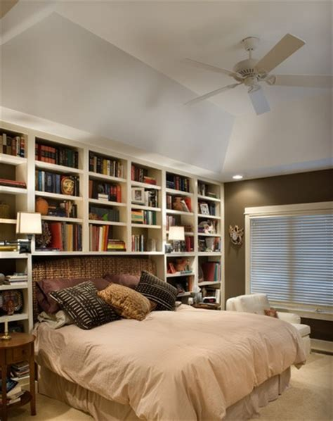 Bookcase In Bedroom by Best 25 Bookcase Headboard Ideas On Apartment