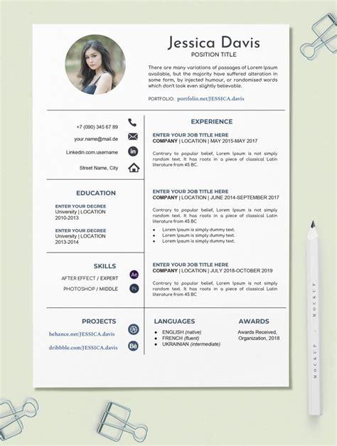 Free Creative Resume Template In Google Docs