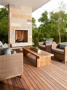 Cheminee Exterieur Bois : d co chemin e exterieur ~ Premium-room.com Idées de Décoration
