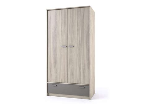 m chambre armoire 2 portes 1 tiroir