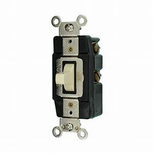 Leviton 20 Amp Industrial Grade Heavy Duty Single