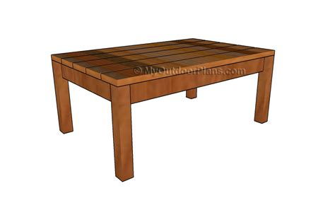 adirondack coffee table plans myoutdoorplans  woodworking plans  projects diy shed