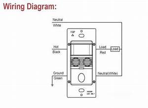 Commercial Grade In-wall Occupancy Vacancy Sensor