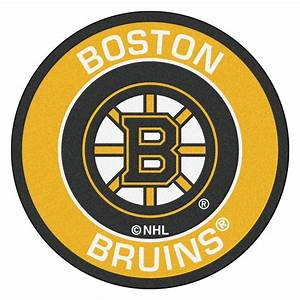 FANMATS NHL Boston Bruins Yellow 2 Ft 3 In X 2 Ft 3 In