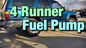 1993 Toyota 4 Runner Fuel Pump Replacement