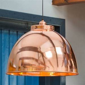 Suspension Luminaire Cuivre : suspension style industriel argent et noir contrast millumine ~ Teatrodelosmanantiales.com Idées de Décoration