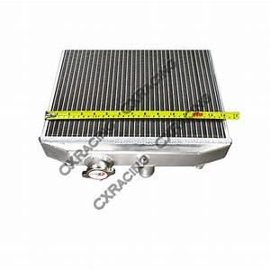 Aluminum Radiator For Honda Civic D15 D16 D Series Del Sol