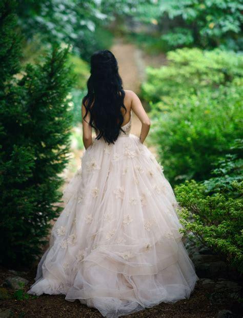 fairytale inspired wedding cassi chris part  green