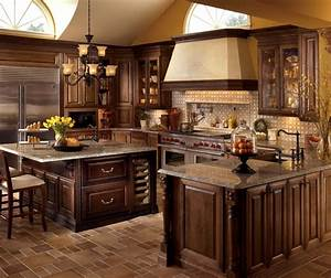 Cute kitchen design cherry cabinets greenvirals style for Improving your kitchen by using modern kitchen design