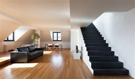 escalera de obra recta negra fotos   te inspires