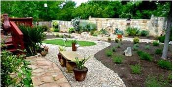 Landscape Design With Rocks Home Decorating Ideas And Tips Landscaping