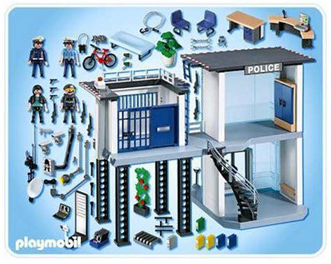 politiebureau playmobil 5182 playmobil city 5182 pas cher commissariat de