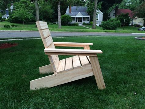 modern adirondack chair by drainyoo lumberjocks