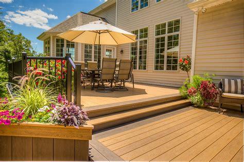 Concrete Patio Vs Wood Deck Cost  Deck Design And Ideas
