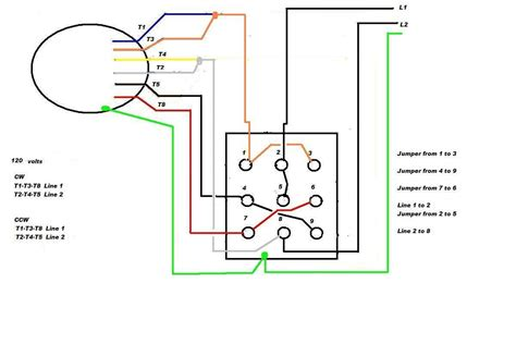 Wiring Diagram For 12 Lead 480 Volt Motor by 480v 3 Phase Motor Wiring Diagram Wiring Diagram