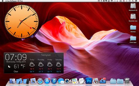 Desktop Weather & Screensaver On The Mac App Store