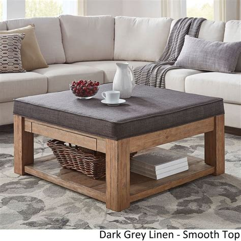 Using An Ottoman As A Coffee Table by 25 Best Ideas About Ottoman Coffee Tables On