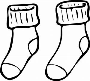 Clothing Pair Of Haning Socks Clip Art at Clker.com ...