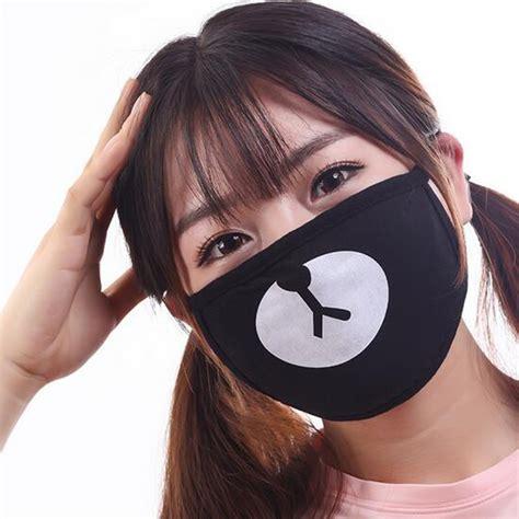 pc unisex dustproof cotton mouth mask korean kpop