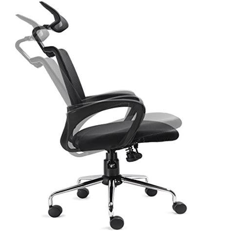 recline ergonomic mesh office chair w lumbar support and