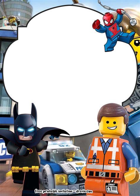 lego  invitations  birthday lego