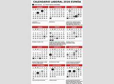 Calendario Laboral 2016 España festivos El Correo