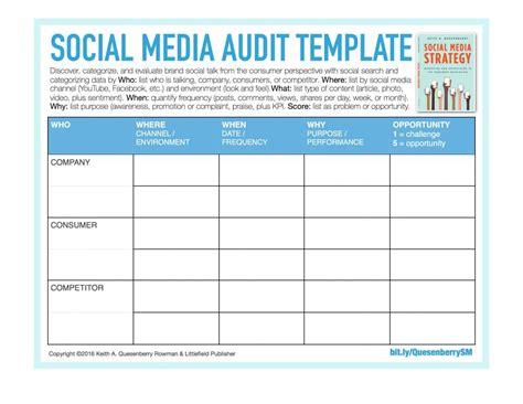 social media report template social media reporting templates template business