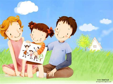 Cartoon Illustration Of Happy