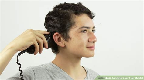 How To Style Your Hair (male) (with Pictures)