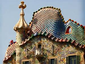 Gaudí's masterpiece Casa Batllo inspired scarves